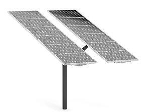 Large Solar Panel 3D Model energy