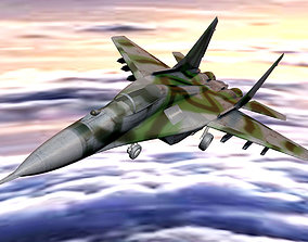 Mikoyan Mig 29 Jet Fighter Aircraft 3D asset