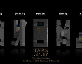 3D Tars Robot - Interstellar