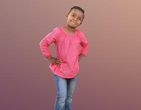 Jamila 10088 - Standing child 3D asset