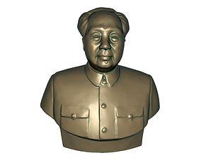 Chairman Mao 3D asset game-ready