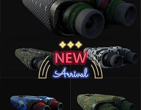 Military binocular pack 3D model