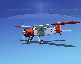 3D Dehaviland DH-2 Beaver NAVY