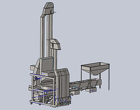3D Dry Coffee Huller