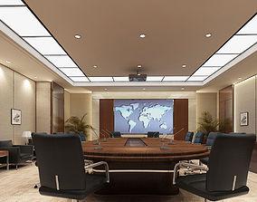 Conference Room Scene 01 3D model