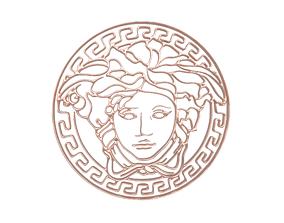 Gianni Versace Logo v1 006 3D asset game-ready
