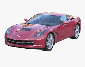 Sport car Stingray 3D model
