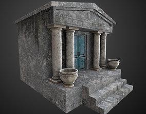 3D asset Mausoleum Game Ready