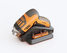 3D model Black decker screwdriver
