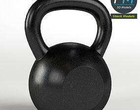 3D model Kettlebell gym equipment