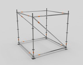 Scaffold Layher LOWPOLY 3D