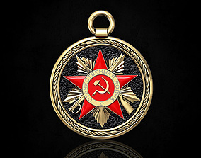 The Order of the Patriotic War-pendant 3D print model