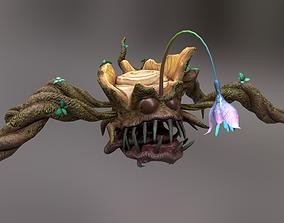 3D asset Monster Stump