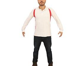 3D model No453 - White Male A Pose