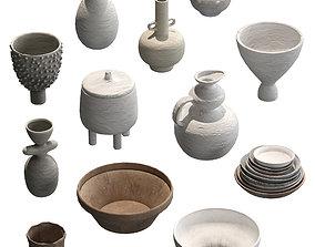 Pottery Set V1 3D
