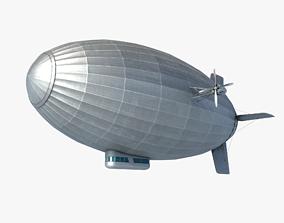 3D asset Airship Zeppelin
