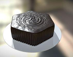Cake Penta 1 3D model