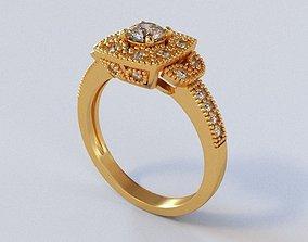 Mariage Rings 76 3D print model sterling