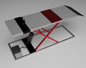 Two wheeler Bay 3D model