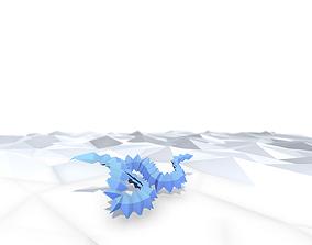 Origami Snake 3D model