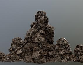 cliff 3D asset realtime rocks