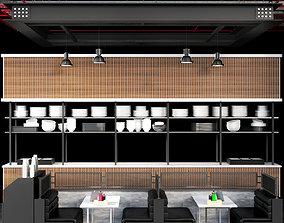 starbuck Restaurant 3D model