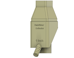 3D print model Rainwater Collector Fits 2X3 in 3