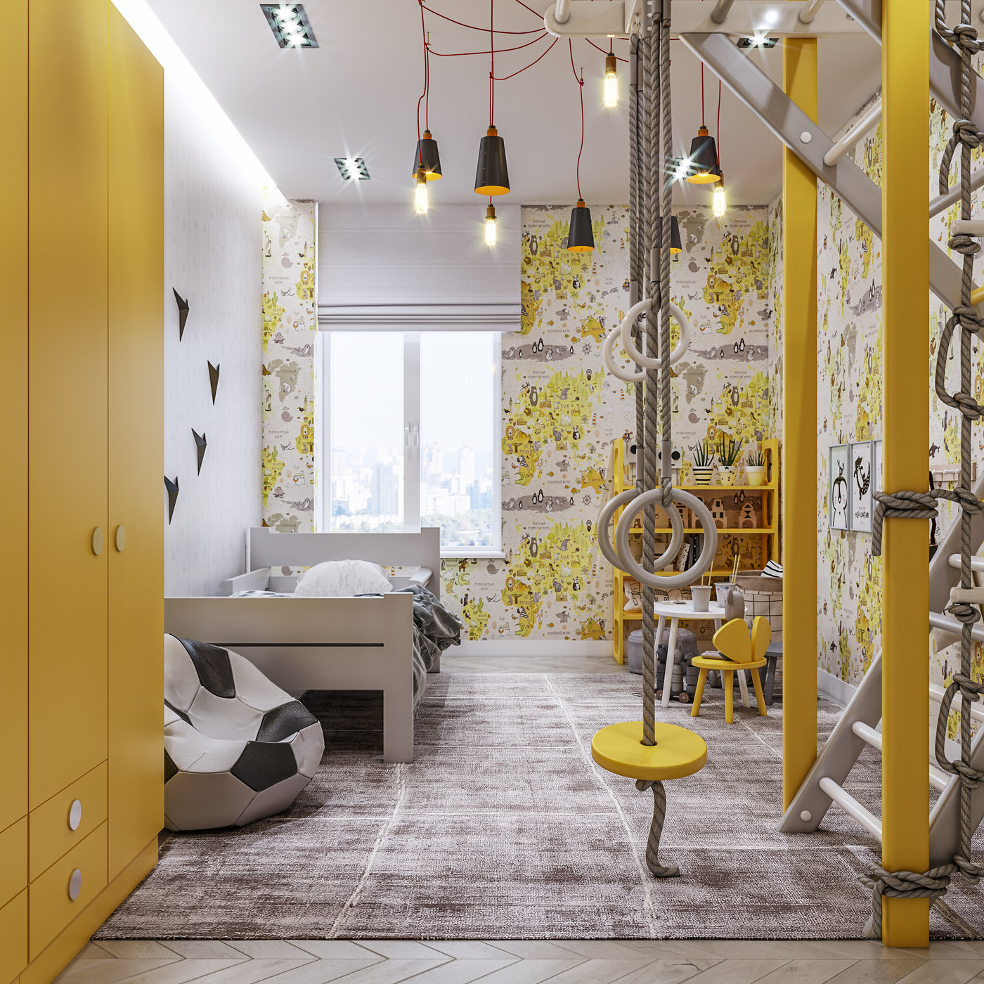Child room interior for by 3DAG