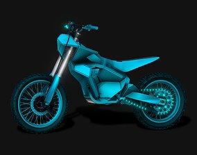 Eco E-Bike Punisher 30KW 3D Model VR / AR ready