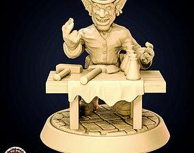 Goblin Merchant For 3D printing