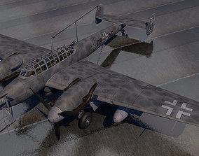 3D model Messerschmitt Bf-110 G-4 Nachtjager