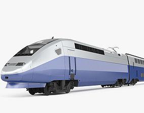3D SNCF TGV 2N2 Euroduplex