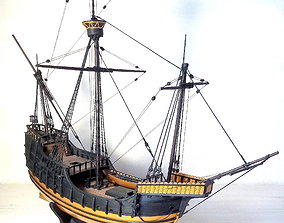 3D print model XV century carrack