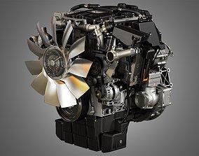 DD5 Medium Duty Truck Engine - 4 Cylinder Diesel 3D