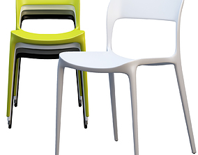3D Bontempi Gipsy Dining Chair