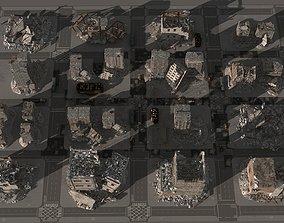 3D damaged city 2020