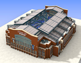 3D asset realtime Lucas Oil Stadium