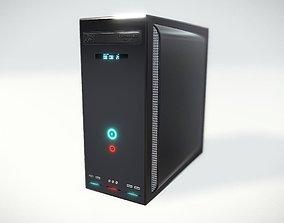 3D High Detailed Desktop PC Case - Personal Computer