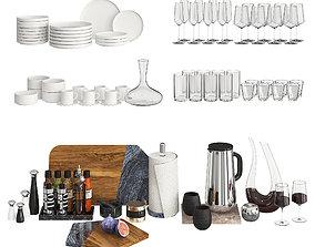 Kitchen Decor - Modern 3D model