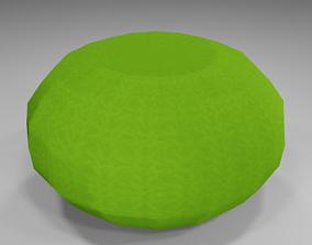 Garden Seat 3D model