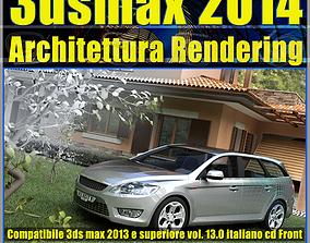 3ds max 2014 Architettura Rendering v13 Italiano cd front