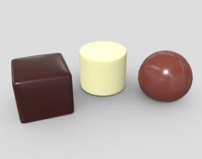 3D model Pralines