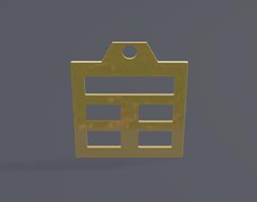 3D printable model rgd gen pendant mk3