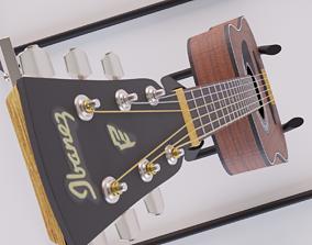 3D asset Classical Acoustic Guitar