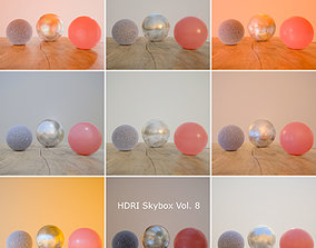 HDRi Vol 8 Skybox Collection 3D asset
