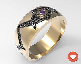 Ring Trend Cellini STL 3D print model