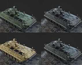 3D model Chinese Army ZBD-04 Infantry Fighting Vehicle