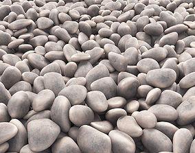 Stone pebbel 3D