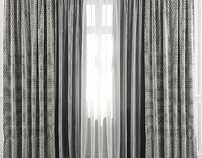 3D Curtain Set 29