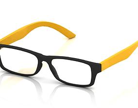 3D printable model eyeglass Eyeglasses for Men and Women